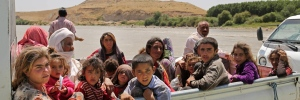 Displaced Iraqis from the Yazidi
