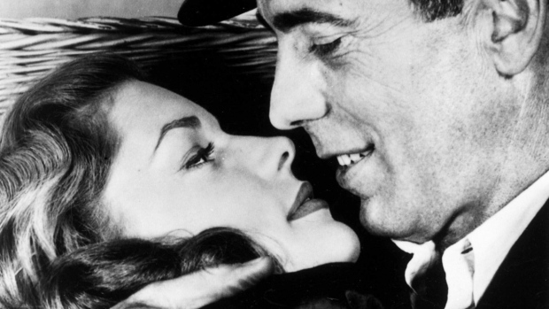 Lauren Bacall, the sultry-voiced actress and Bogart's partner off and on the screen, was a star almost from the moment she appeared on screen to the day she died, Tuesday, Aug. 12, at a New York City hospital. She was 89. <br> <br> Lauren Bacall and husband Humphrey Bogart are seen in their 1944 romance-war film &#39;To Have and Have Not.&#39;  (AP)