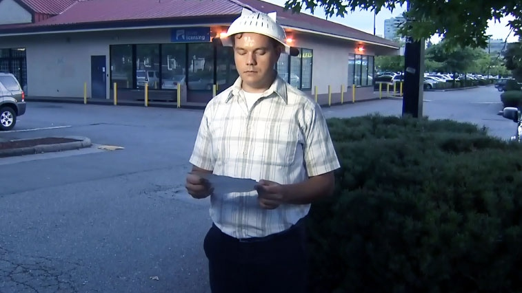 Obi Canuel is shown outside the ICBC offices in this file photo from Aug. 14, 2014.