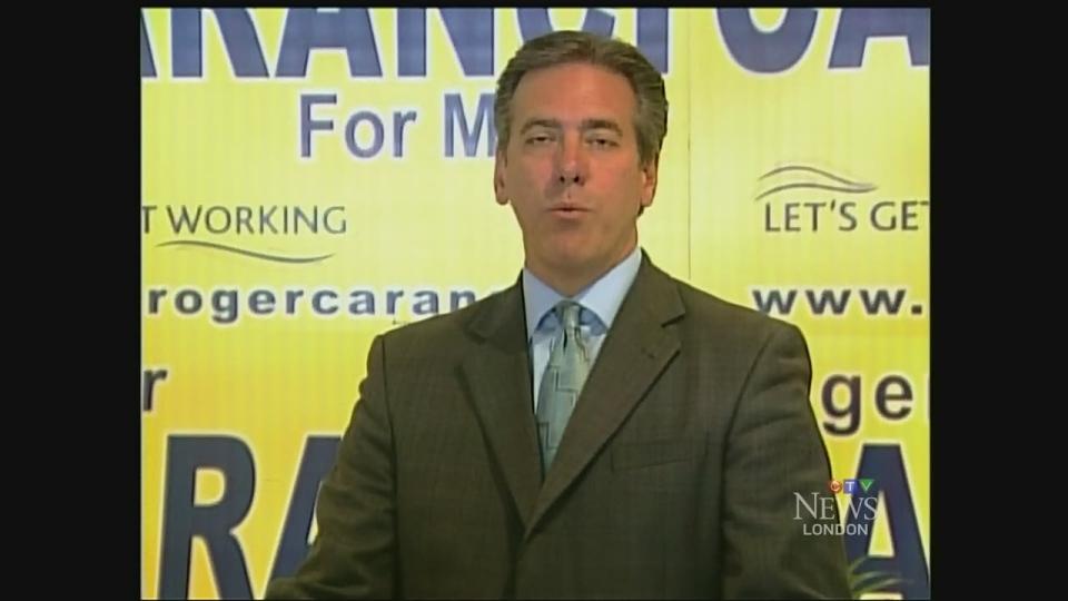 Mayoral candidate Roger Caranci