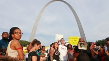 Protest for Michael Brown in St. Louis