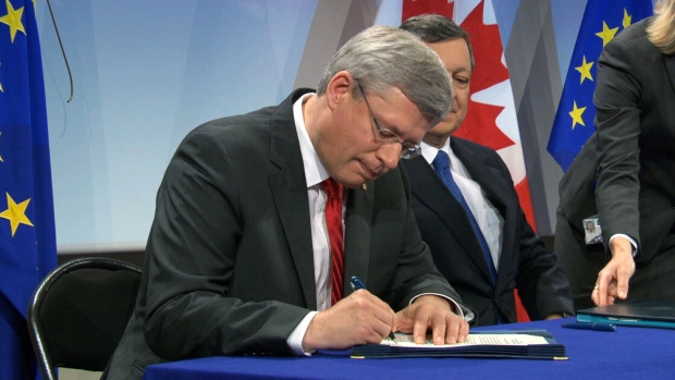 CTV National News: EU trade agreement leak
