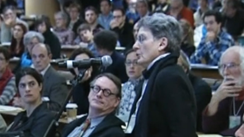 Well-known Montreal architectural activist Phyllis Lambert said that the hearings should have been held much earlier.