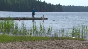 Those who live and work at East Blue Lake are speaking out to save what's left of the shore.