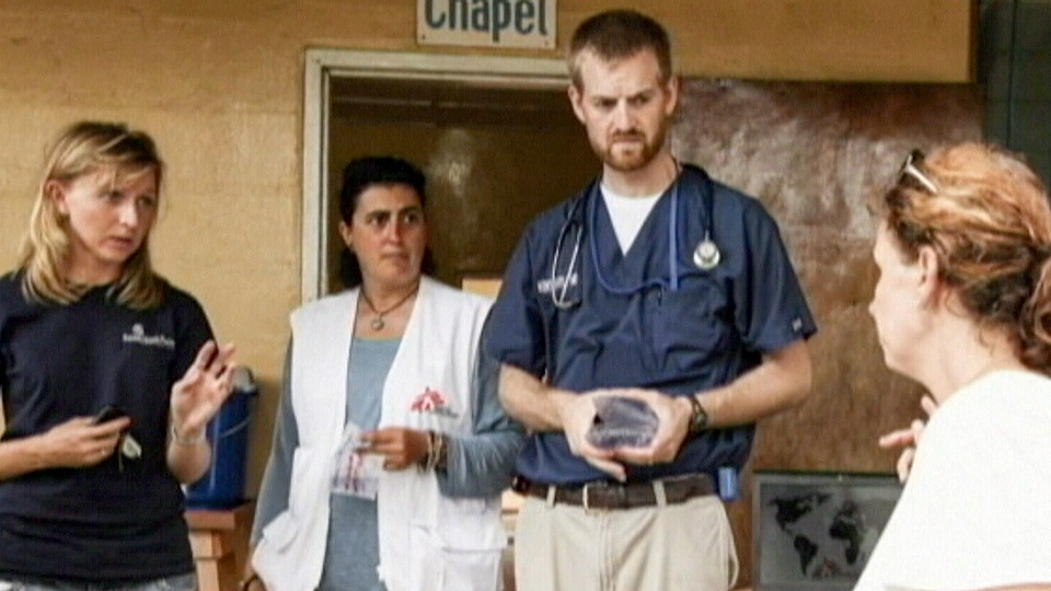 Dr. Kent Brantly, an American responding to the Ebola outbreak in Liberia, is receiving medical treatment after contracting the virus.