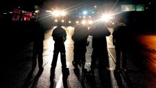 Clashes again in Ferguson