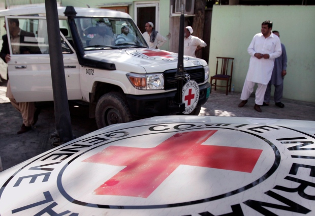 International Red Cross in Afghanistan