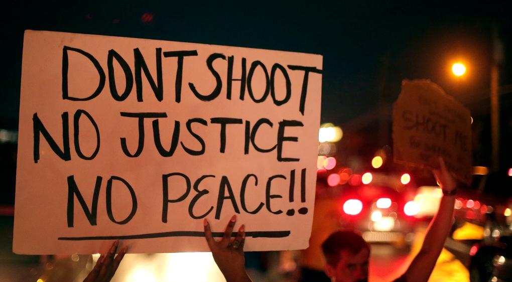 Tweets from Ferguson