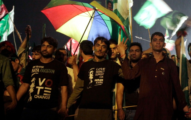 Pakistanis protest, call for gov't ouster