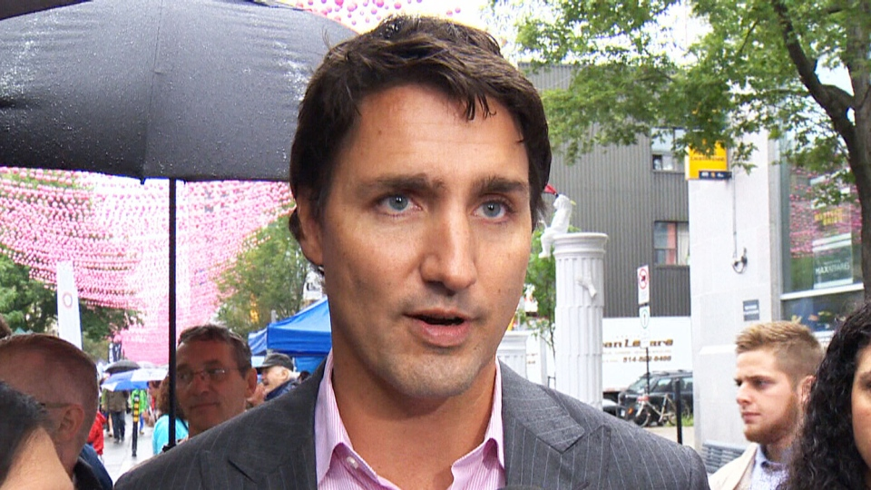RCMP and Ottawa police are investigating a break-in at Liberal Leader Justin Trudeau's Ottawa home on Saturday, Aug. 16, 2014.