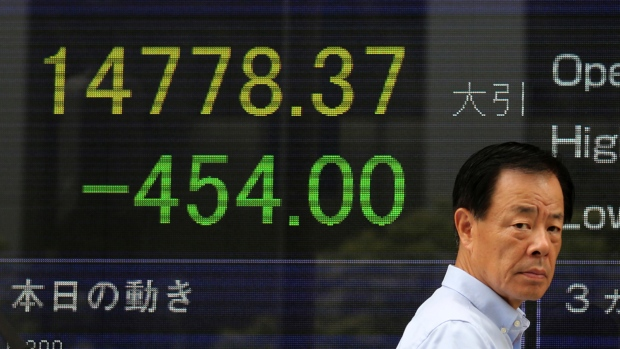 Global stocks drift as Asia gains slightly