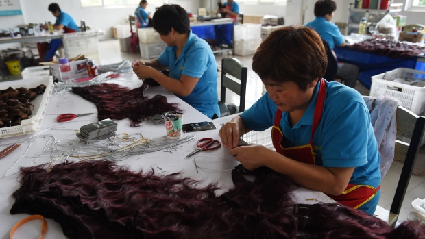 Human hair exported to Africa