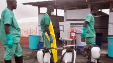 Ebola patients escape in Liberia