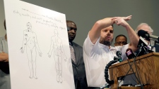 Michael Brown shot at least 6 times