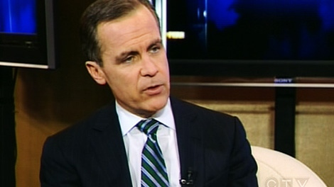 Bank of Canada governor Mark Carney sits down for an exclusive interview with CTV's Question Period on Sunday, Jan. 22, 2012.