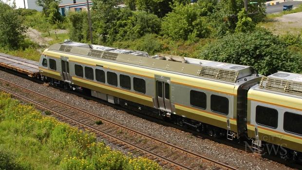Union-Pearson Express train