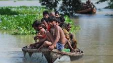 Monsoon flooding in Nepal