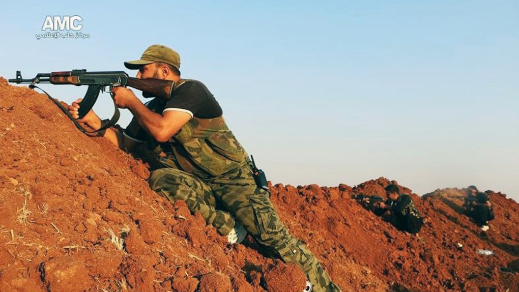 Syrian presidents strikes ISIS at home