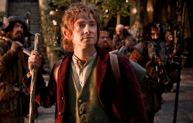 Martin Freeman in New Line Cinema's The Hobbit: An Unexpected Journey'