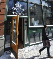 Queen of Tarts in Edmonton is seen in this undated photo (UrbanSpoon)