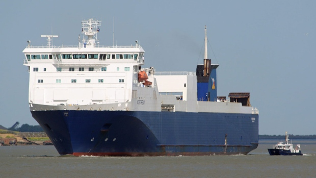 Norstream vessel in Tilbury, Ireland