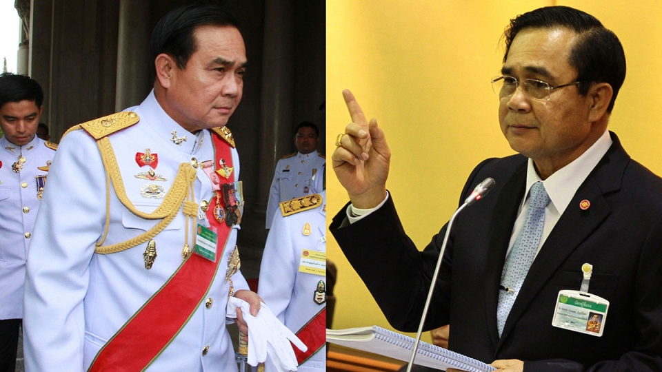 Thailand's National Council for Peace and Order (NCPO) Chairman Gen. Prayuth Chan-ocha. (AP / Files)