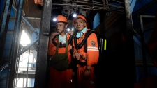 Rescue attempt at Dongfang Coal Mine in China