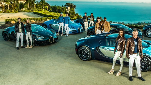 Bugatti capsule clothing collection