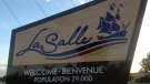 The LaSalle welcome sign can be seen in this  photo taken Aug. 14,  2014. (Dan Appleby/ CTV Windsor)