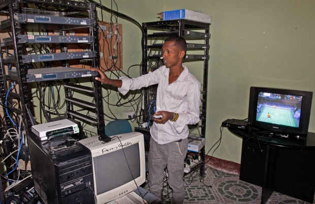 TV sales boom in Somalia amid fears of gathering in public | CTV News