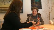 Recreational therapist Marla Kurtz, left, and Nathan Goldman work on a puzzle, Sunday, Jan. 22, 2012.