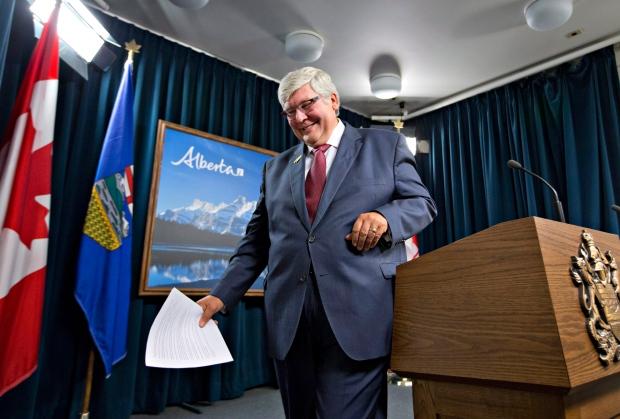 Dave Hancock Alberta premier