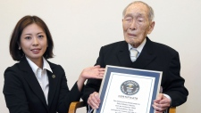 Japan world's oldest man