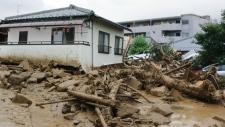Japan landslides