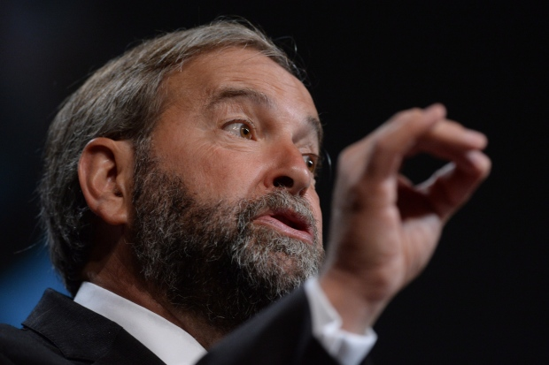 Mulcair addresses the Canadian Medical Association