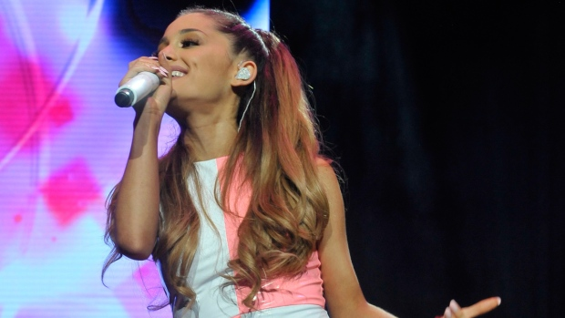 Ariana Grande performs in New Jersey