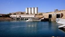 Mosul Dam complex in Iraq