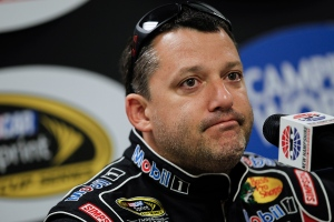 In this July 12, 2013 file photo, NASCAR driver Tony Stewart speaks at a press conference prior to NASCAR practice at the New Hampshire Motor Speedway in Loudon, N.H. (AP /Cheryl Senter, File)
