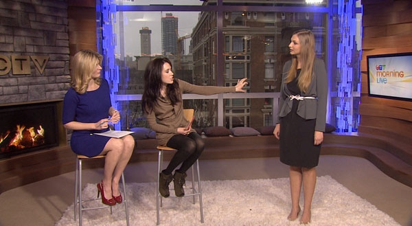 Kelsey Dundon, editor and stylist for TheAnthology.ca, gives tips on suiting your style to your body type. Jan. 24, 2012. (CTV)