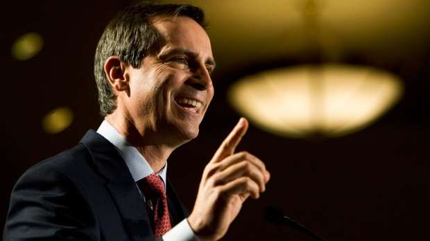 Ontario Premier Dalton McGuinty addresses The Canadian Club of Toronto regarding his government's economic plan for 2012 in Toronto on Tuesday, Jan. 24, 2012. (Nathan Denette / THE CANADIAN PRESS)