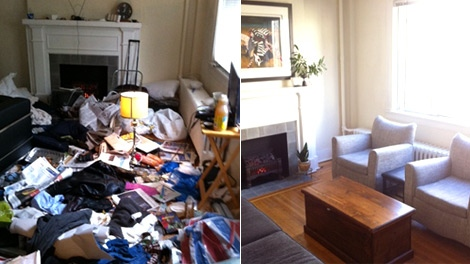 In less than two months, a hoarder turned this Vancouver apartment into a junk pile. (CTV)