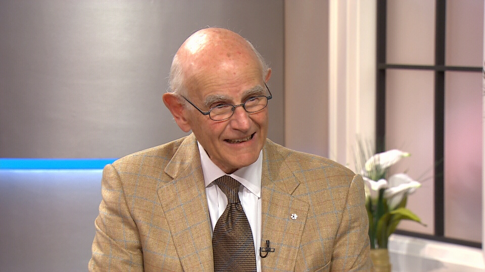 Dr. Charles Tator, a member of the CCC appears on Canada AM, Thursday, Aug. 21, 2014.