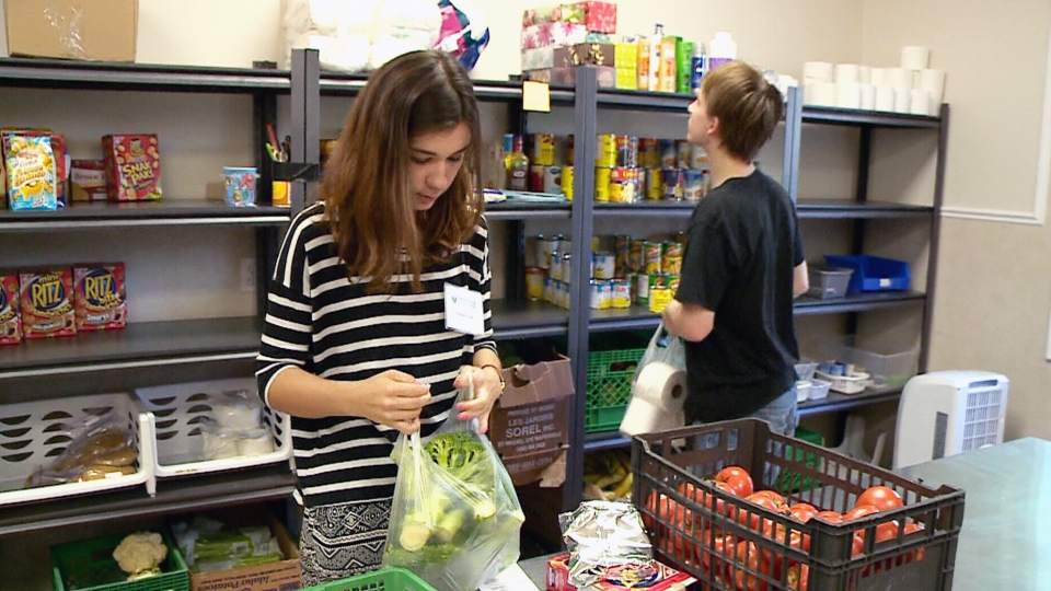 Almost a million Canadians will use a food bank this year, but experts say it's only a fraction of the people who will struggle to put food on the table in 2014.