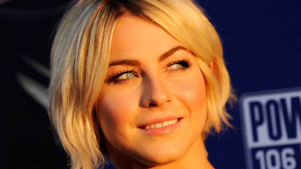 Actress Julianne Hough in Los Angeles on Aug. 7, 2014. (Chris Pizzello Invision /AP)