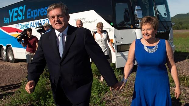 David and Rhonda Alward in Penobsquis, N.B.