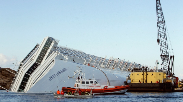 Grounded Italy Cruise Liner To Have Fuel Pumped Saturday CTV News - Cruise ship fuel