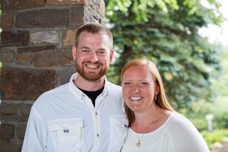 This undated photo provided by Samaritan's Purse shows Dr. Kent Brantly and his wife, Amber. Brantly, one of the two American aid workers infected with the Ebola virus in Africa, was released from hospital Thursday, Aug. 21, 2014. (AP / Samaritan's Purse)