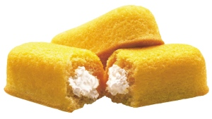 This 2003 file photo originally released by Interstate Bakeries Corporation shows Twinkies cream-filled snack cakes. Twinkies first came onto the scene in 1930 and contained real fruit until rationing during World War II led to the vanilla cream Twinkie. (Interstate Bakeries Corporation via PRNewsFoto/AP)