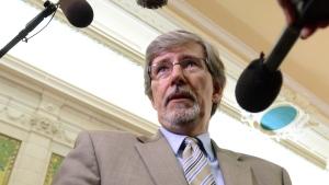 Daniel Therrien on Parliament Hill in Ottawa on June 3, 2014. (THE CANADIAN PRESS / Sean Kilpatrick)