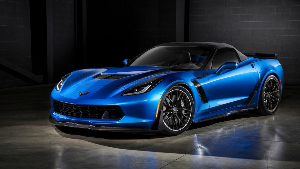 2015 Chevrolet Corvette Z06 (photo: General Motors)